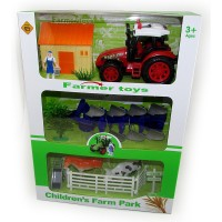 Set Granja Infant. 10pcs/plast/trac/grane/anima/ 1353102 Caja Visora