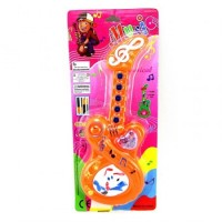Guitarra Infantil Musical 23cm Plast/color/pilas/blister P784786