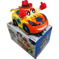 Auto Infant. Carita C/sombrero/luces/3d/musical/movimie/pilas 1122078