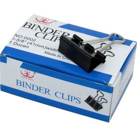 Broche Binder 41mm X12 Unid  Mp3538  Caja