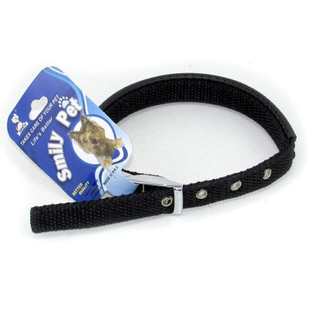 Collar Ajustable P/perro Tela Chico Mp3104 Granel
