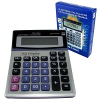 Calculadora 12 Digit. Display Gde Dm-1200v Caja  Mp4043
