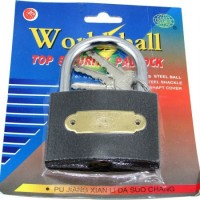 Candado Hierro 75mm E/blister 41075  World Ball