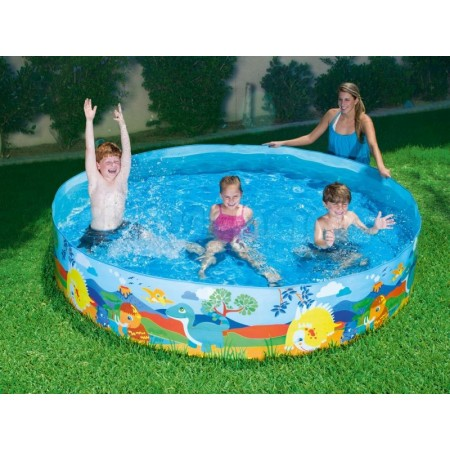 Pileta Rigida 244x46cm Monsters 55001 Caja