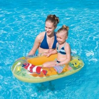 Bote Inflable  Mundo Marino 112 X 71cm Bestway 34036