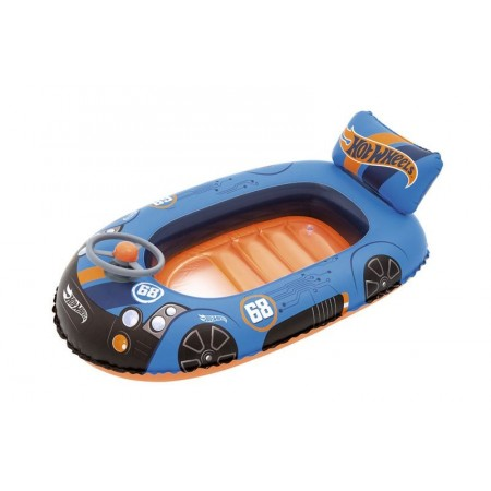 Bote Inflable Hot Wheels 112x 71cm 93405 En Caja
