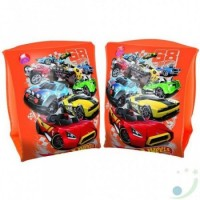Bracitos Inflables Hot Wheels 23 X15 Cm  93402 E/caja