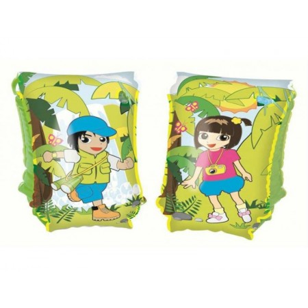 Bracitos Inflable Jungle 30x15cm Bestway 32102 E/bolsa