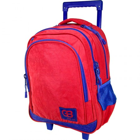 Mochila Carro 39cm  Gb C/ Canopla/ Lona Color/2 Div/mp4181