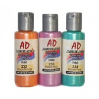 Acrilico Decorativo  Ad Perlado Amarillo   50ml   058727-231