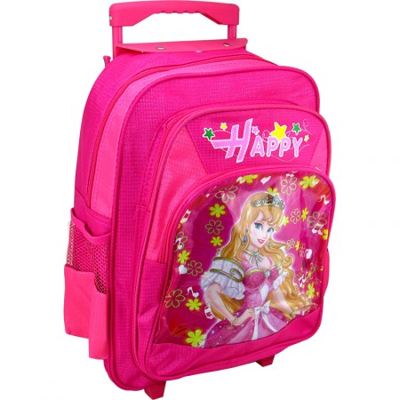 Mochila Carro Infant.  37.5cm Lona /happy/estamp/diseños Mp5653