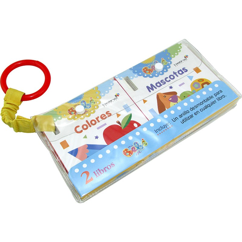 Libro Mi Bebe Ve Colores - Mi Bebe Ve Mascotas Ed.betina 2248 Pvc ...