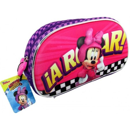 Cartuchera Minnie  Neoprene   Km746 Figura 3d