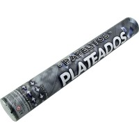 Lanza Papelitos Plateado Metalizado 6 Display 4773