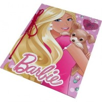 Carpeta Nº3 Cartone  C/cordon Barbie  1423l