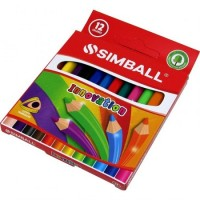 Lápiz Color  Simball Innovation  X12  Corto Caj.0215019912