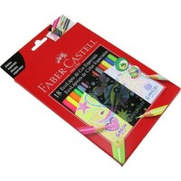 Lapiz Color Especiales Faber X 18 Unid( 6-past-6 Neon- 6 Metal)120918
