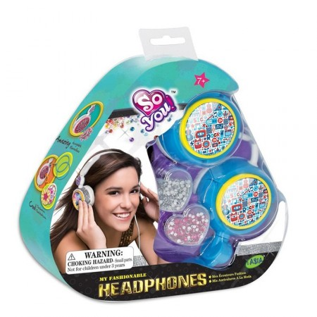Auriculares Fashion P/decorar Tal08135 E/blister So You!