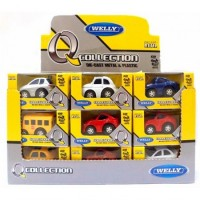 Auto Welly A Pull Back Collection 92710 En Caja