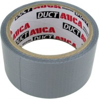 Cinta Auca Duct Tape Gris 48mm X 9 Mts