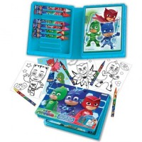Set De Arte  Pjmasks   Estuche 10 Marcador/blocks/ Epj 00860