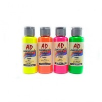 Acrilico Decorativo  Ad Azul  Fluo   50ml   058727-266