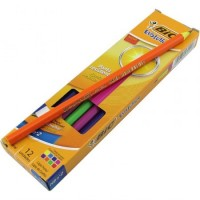 Grafito Bic Evolution Color X12  Hb N*2 Estuche Carton 930017