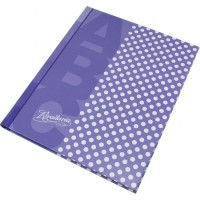 Cuaderno Abc 19 X23.5 /t/con  X 50hj.ray. Lunares Lila  366981