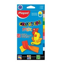 Plastilina Maped Colorpeps Extra Soft 13gr  X 12 Mix Color.surt.828201