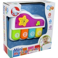 Mini Piano Didact. Infant. Musical / Luz/  P891839 Caja Visora