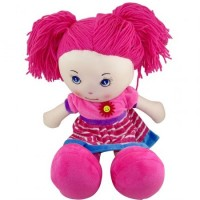 Muñeca Artesanal Tela 50 Cm/pelo/lana/color/plush/ Mp5120