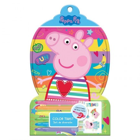 Set De Diversión Color Twist Peppa Pig  Epp06333