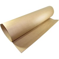 Papel Kraft Misionero  125grs  85 X120 Cm Marron  26400