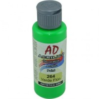 Acrílico Decorativo  Ad Verde Fluo   50ml   058727-264