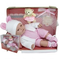 Baby Lovely Mediano Con Peluche 842 Cariñito