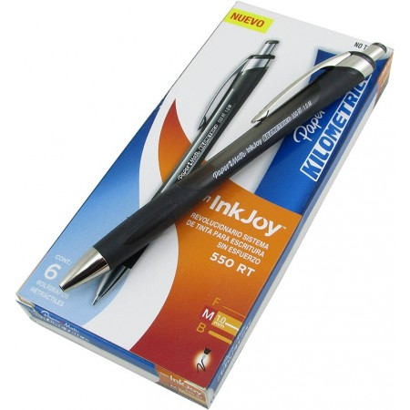 Bolígrafo Retractil Pm Inkjoy 300rt Azul La3750