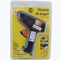 Pistola Encoladora Glue Gun 8 Mm  10w Blister Gg-002