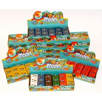 Plastilina Model Marron 24 X 25gr. 827612