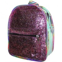 Mini Mochila 26cm Fashion C/ Glitter/metalizad/ 4 Color/tir/ray/  Mp6215