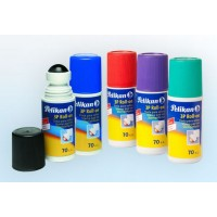 Tinta P/sello Roll On Pelikan Rojo 3p 70cc. 001-504-658