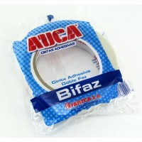 Cinta Auca Doble Faz Transparente 24mm X 25mts