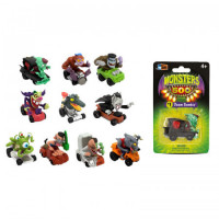 Auto Chico Monsters Coleccionable X 1 Unidades  En Blister Mm500