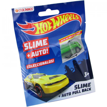 Auto De Rally Hot Wheels Mas Slime Coleccionable En Bolsa Ctpahwrc