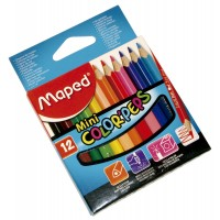Lapiz Color Colorpeps Mini X 12 Maped E/caja.832500