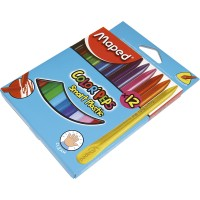 Crayones Plasticos X 12 Color Peps Smart/maped.862011