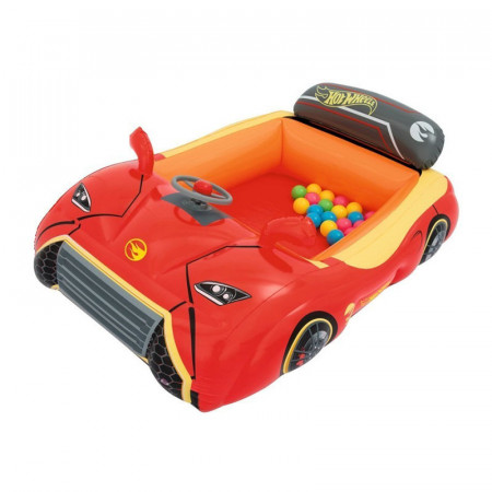 Pelotero Inflable Bestway Forma Auto Hot Wheels 93404 En Caja