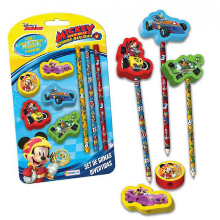 Set De Gomas Divertidas/lapiz Mickey-7684