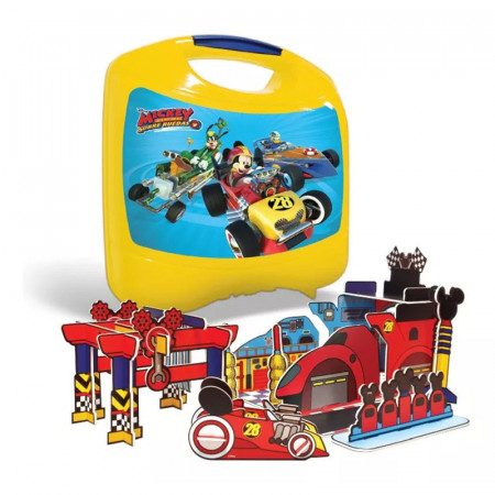 Lunchera Pop-up Playset Mickey Aventuras Sobre Ruedas Mic113