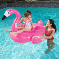Flamenco Inflable Chico Bestway 1.35 X 1.19 M En Caja 41103