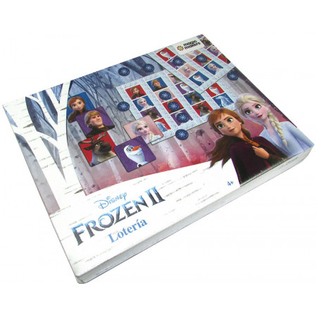 Lotería Frozen Ii Magic Makers En Caja Fro109
